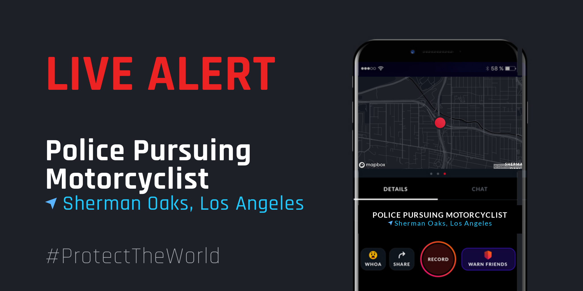 Motorcyclist Evaded Police Pursuit @Citizen | Instant 911 Crime And